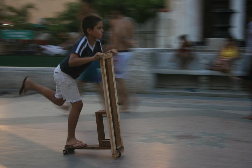 Самокат среды №19. Кубинский хэндмейд
