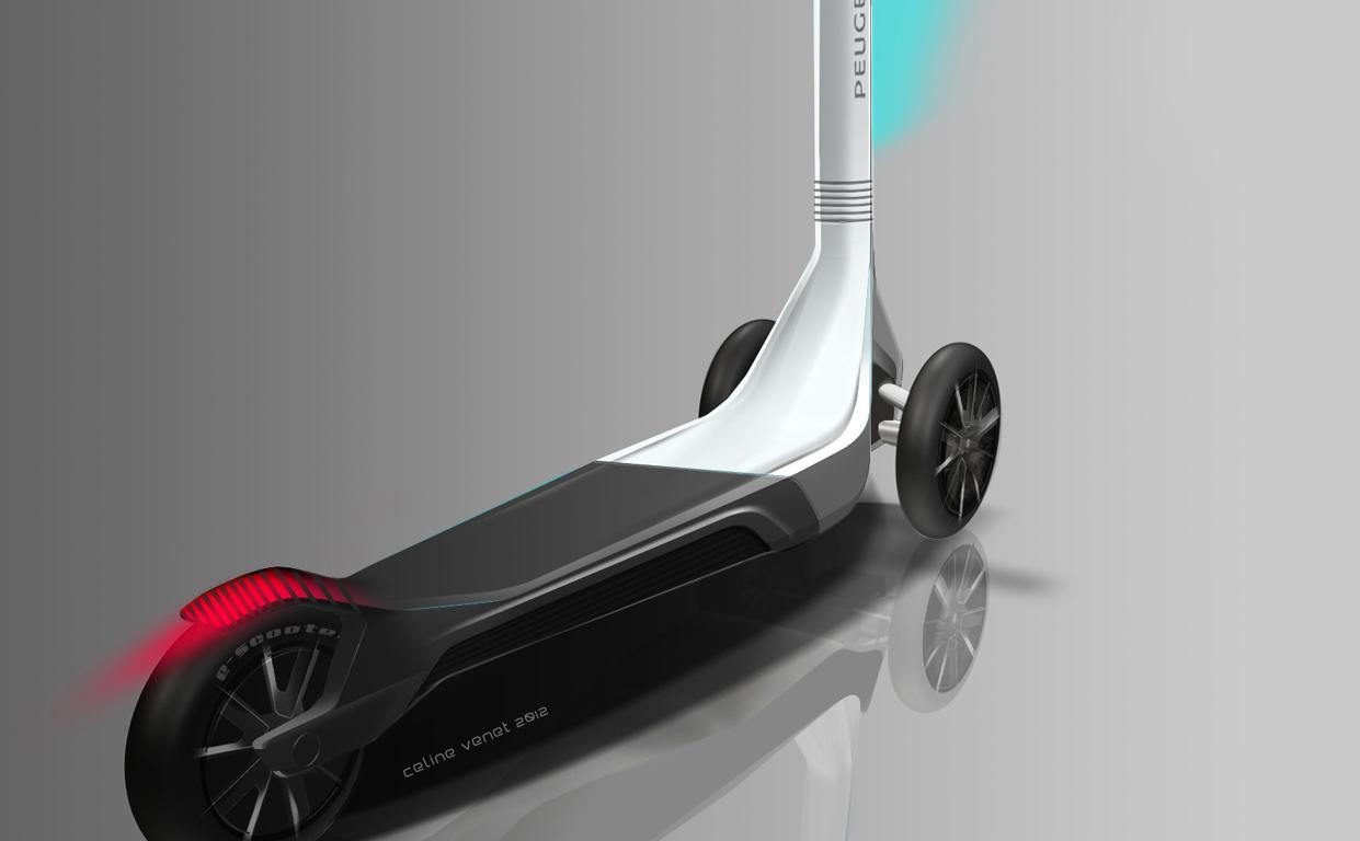 Самокат среды №24. Peugeot Scooter