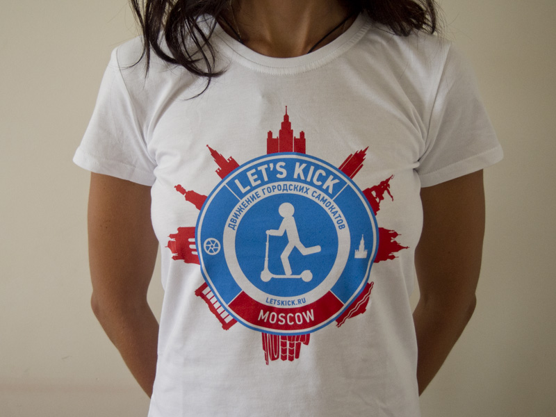 Футболки Let's kick Moscow