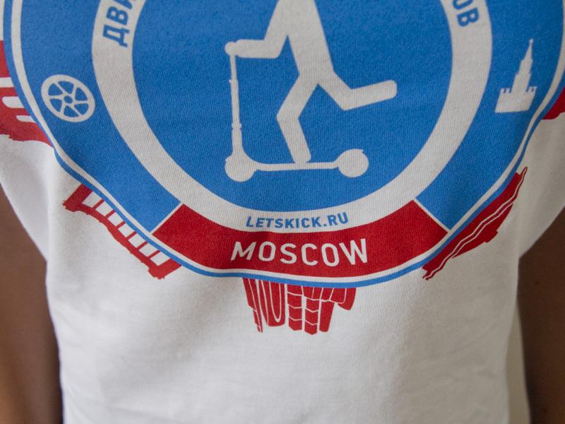 Футболка Let's Kick Moscow