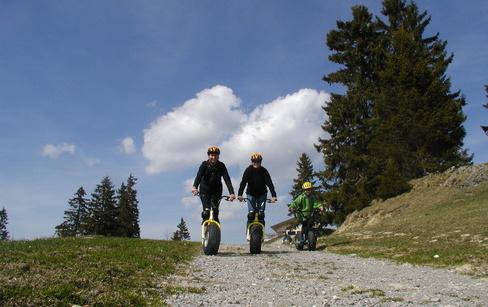 Самокат среды №33. Альпийский внедорожник