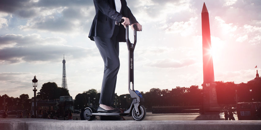Самокат среды №43. HYbrid-kick от Peugeot и Micro