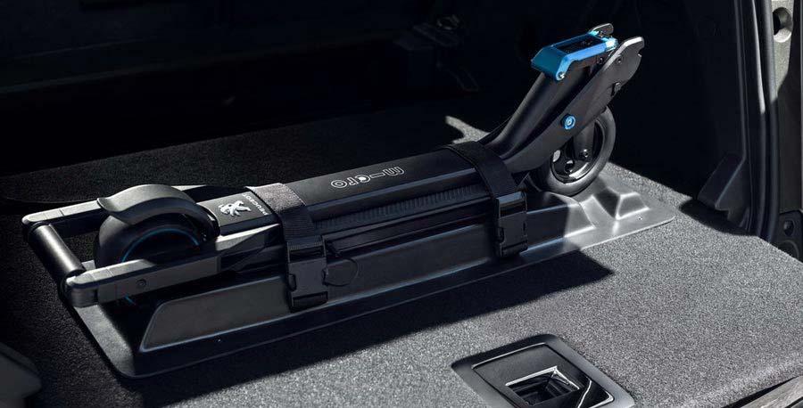 Самокат среды №43. Peugeot Micro E-Kick