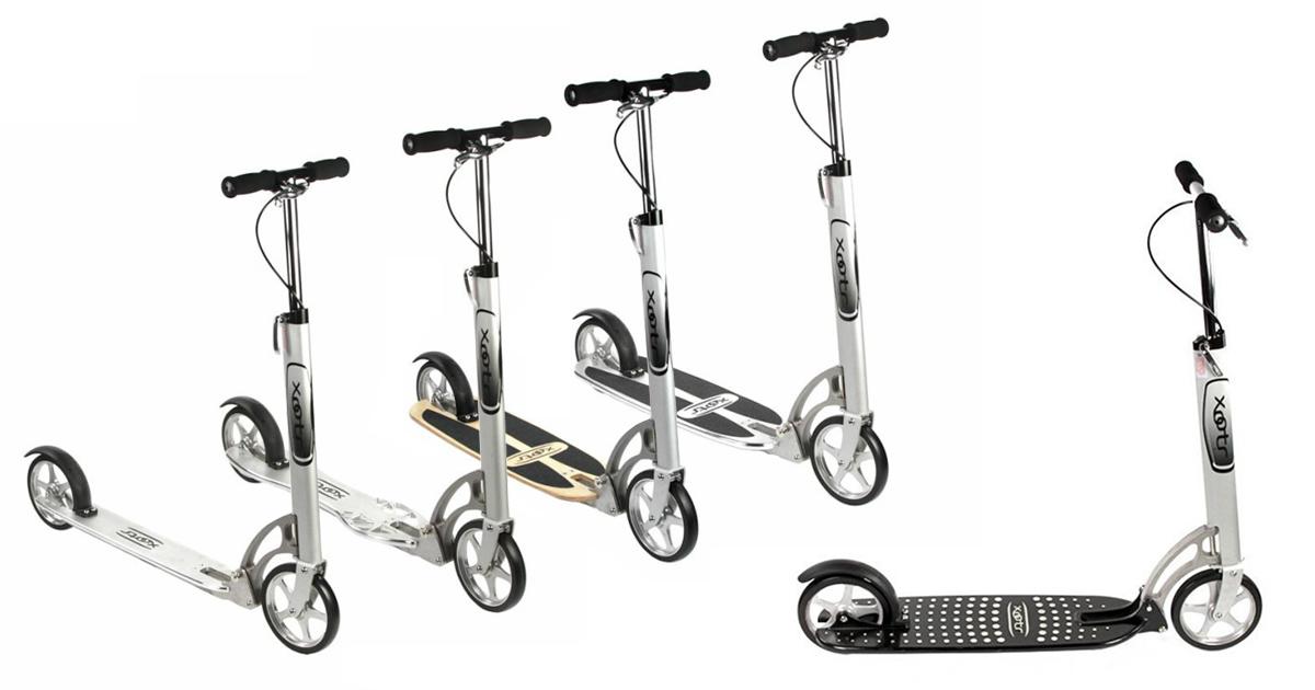 Модельный ряд самокатов Xootr
