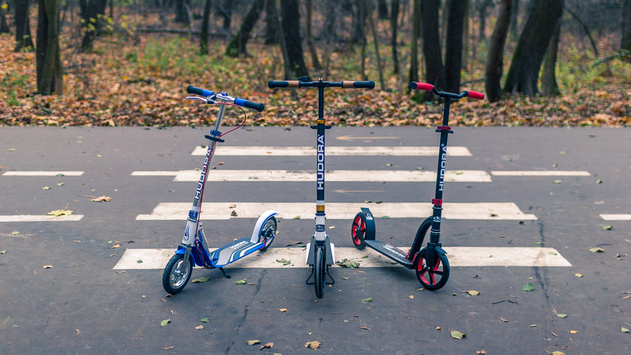 Самокаты Hudora Big Wheel