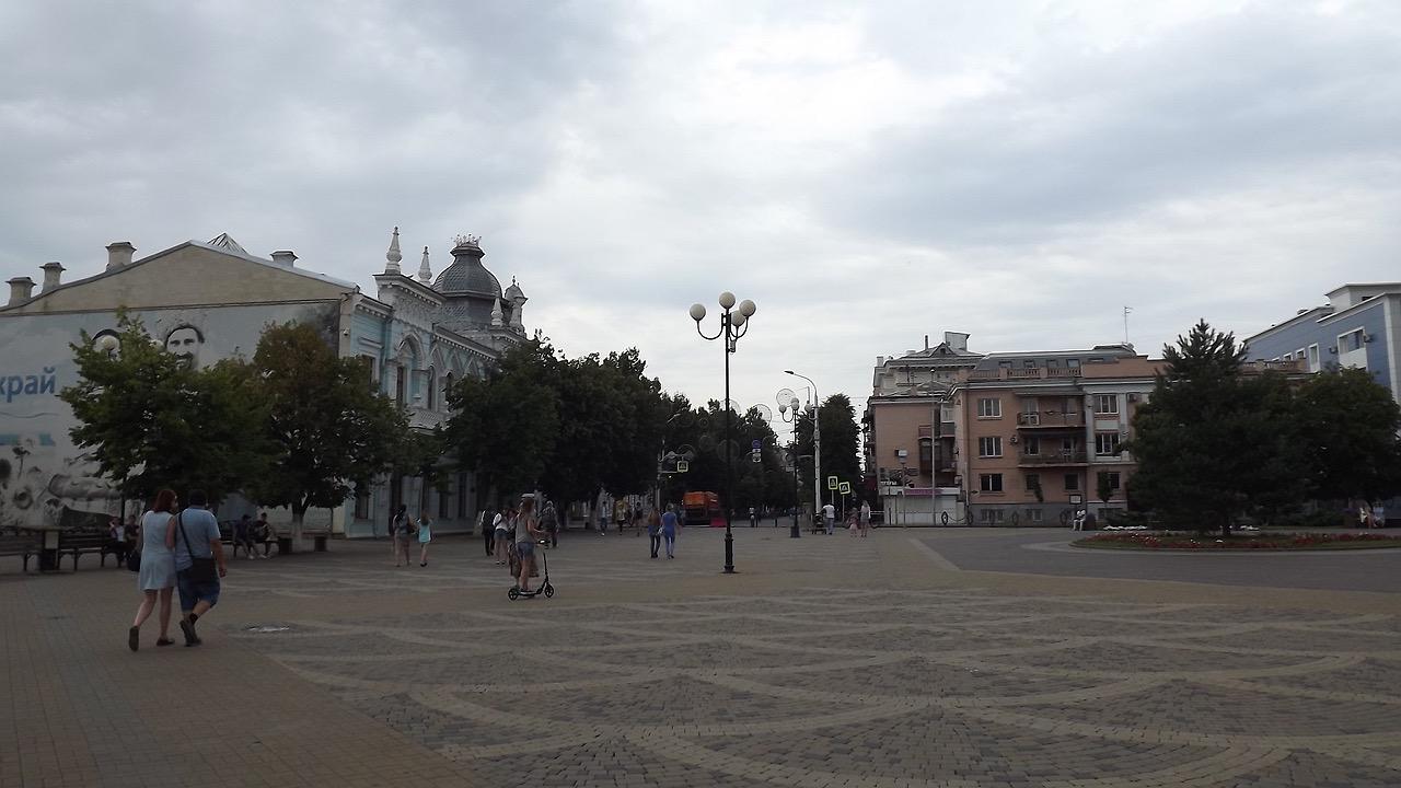 Путешествие с самокатом: юг России, Ростов