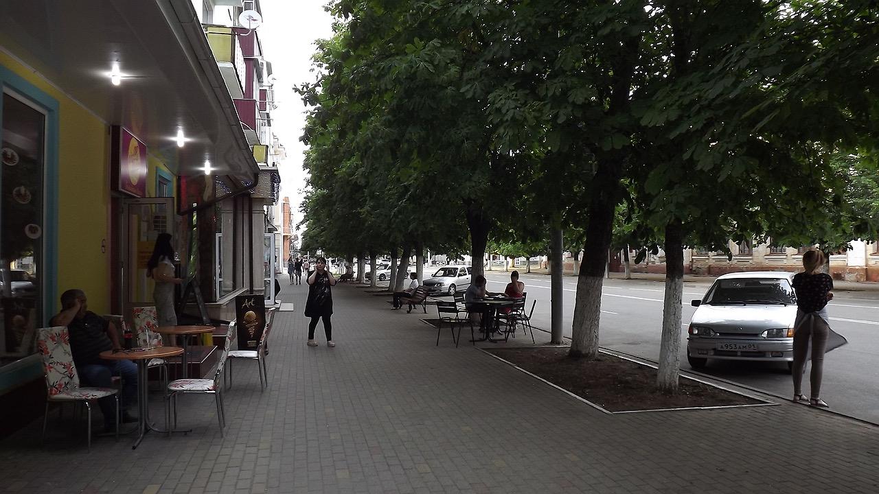 Путешествие с самокатом: юг России, Майкоп