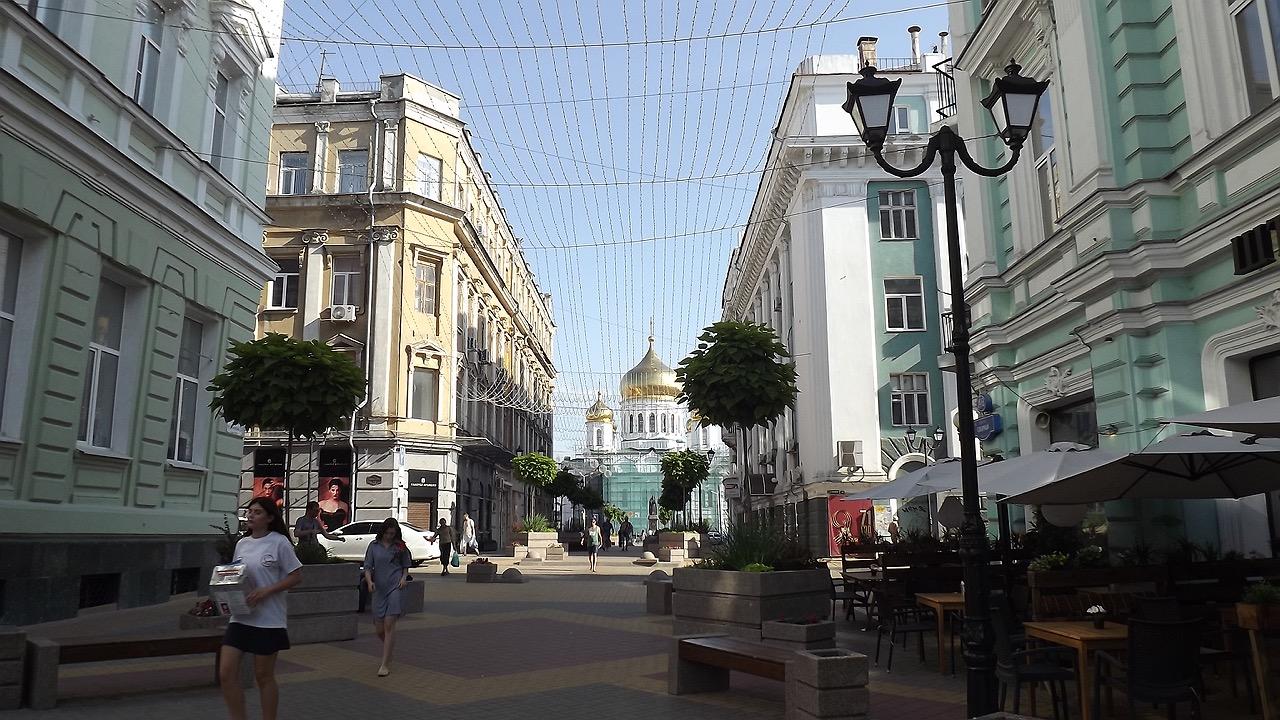 Путешествие с самокатом: юг России, Ростов-на-Дону
