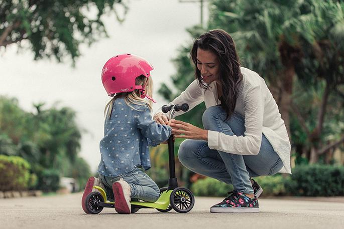 Советы родителям маленьких самокатчиков