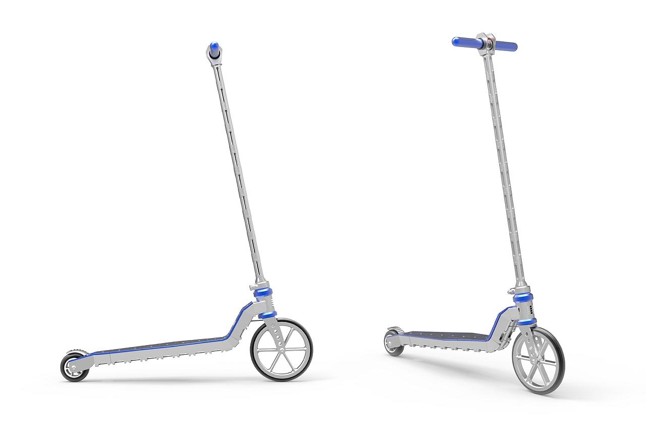 Самокат среды №115. A4 Scooter