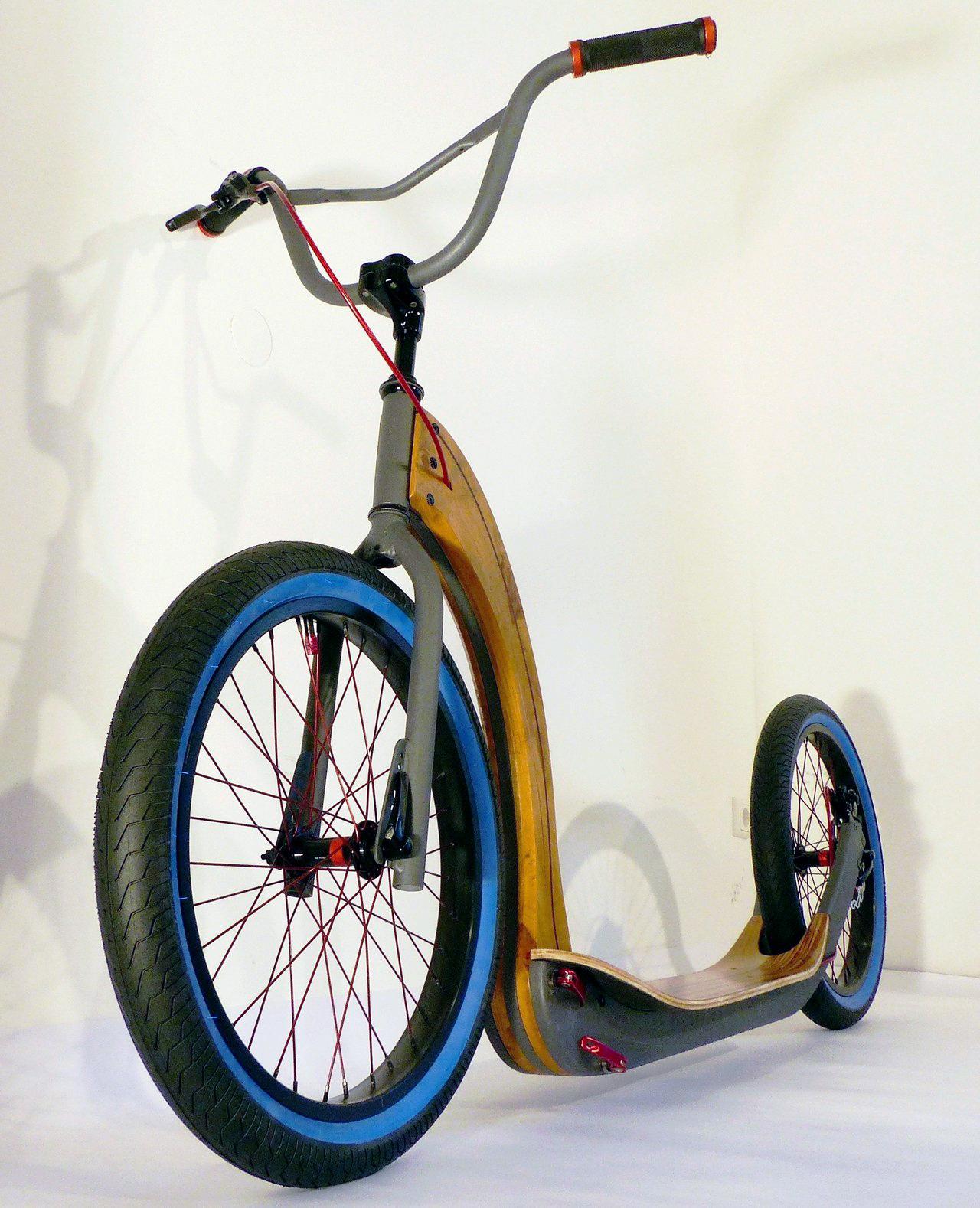 Самокат среды №138. Футбайк Brehm Bicycles