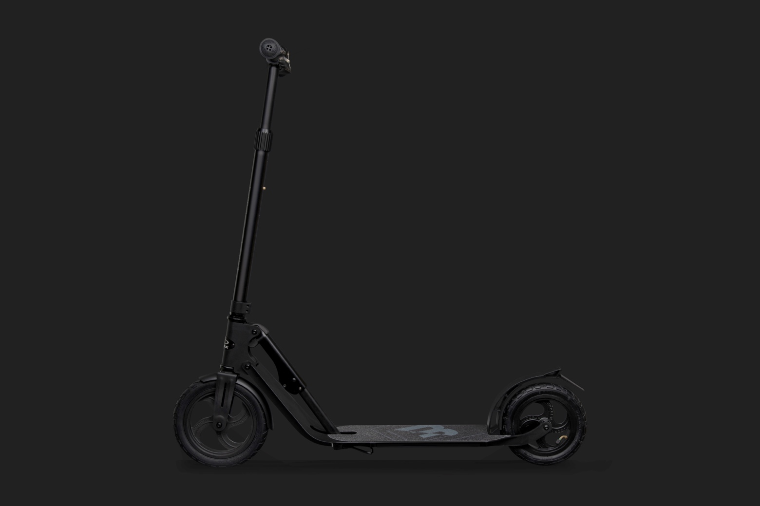 Новинки-2018: Hudora BigWheel Air Black Edition