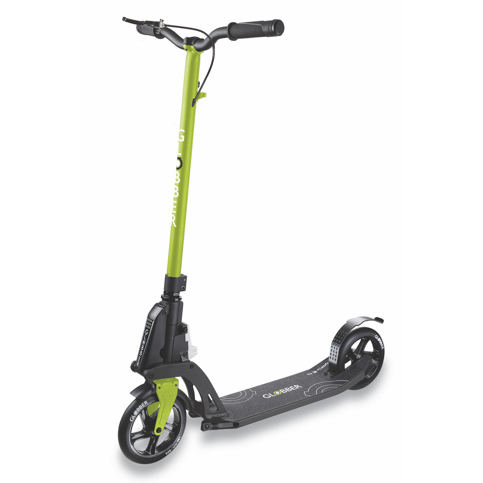Globber One K 180 BR  Lime Green