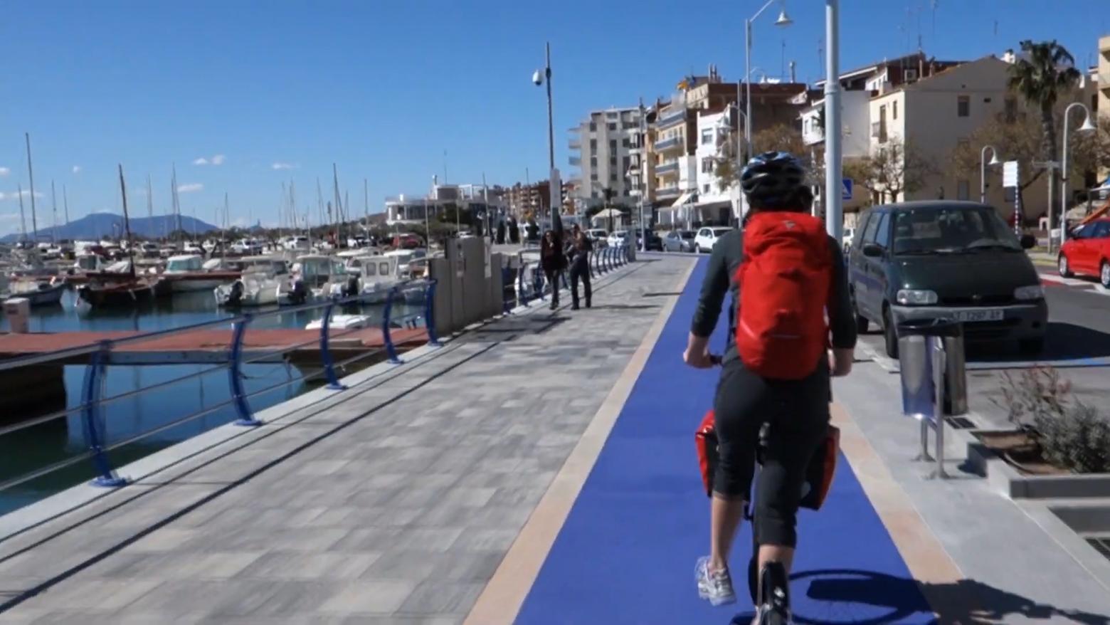 Из Барселоны в Валенсию на футбайках