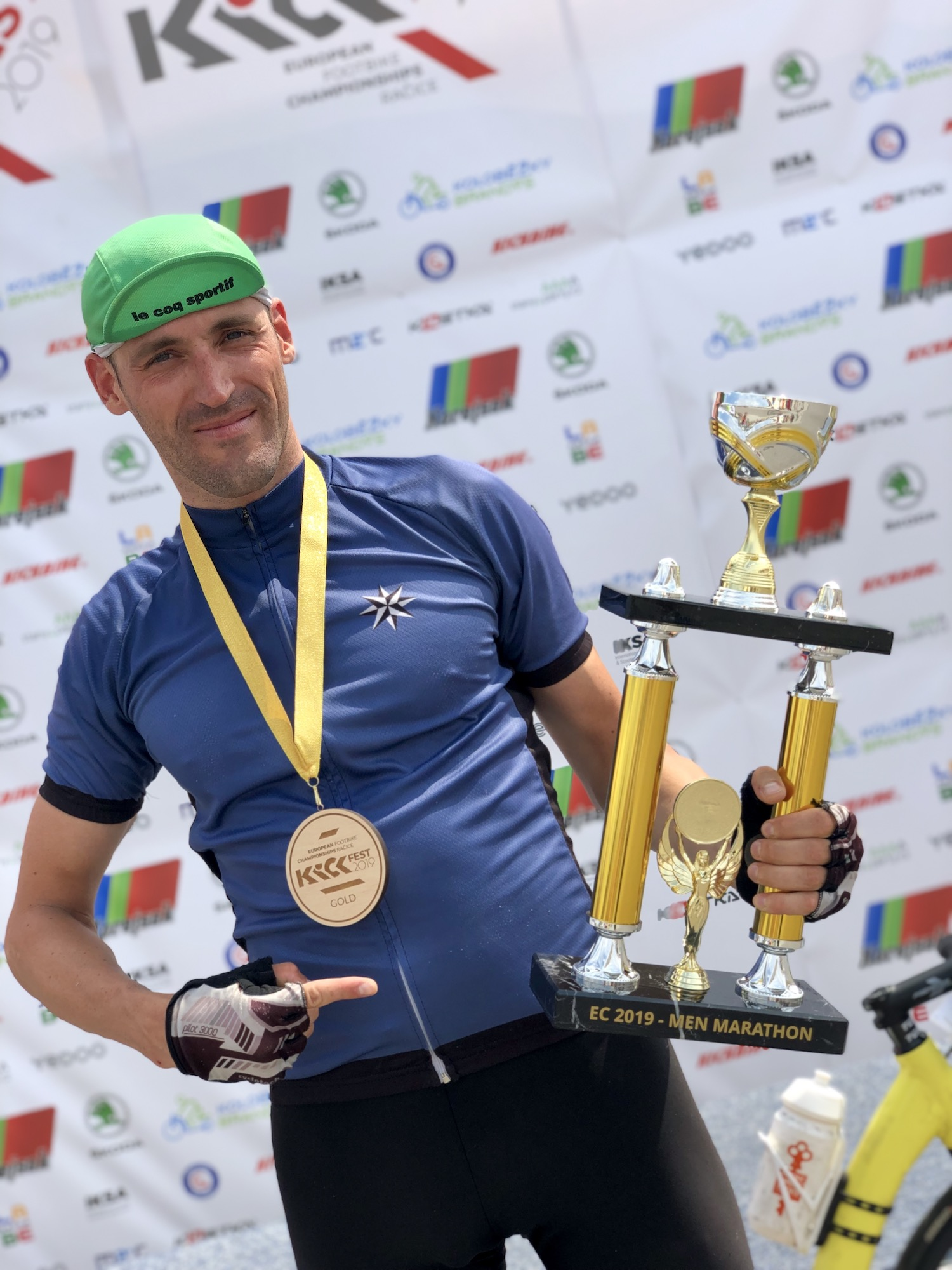 Лев Кучеров - чемпион Европы по футбайку!
