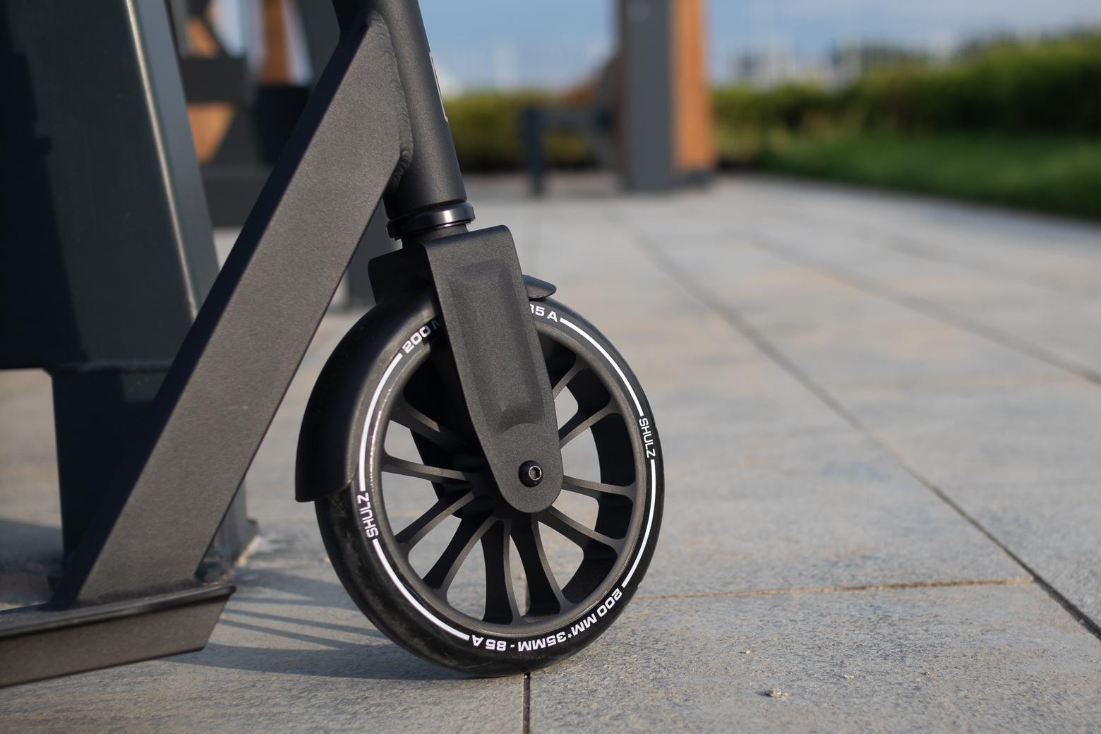 Полиуретановое колесо на алюминиевом диске