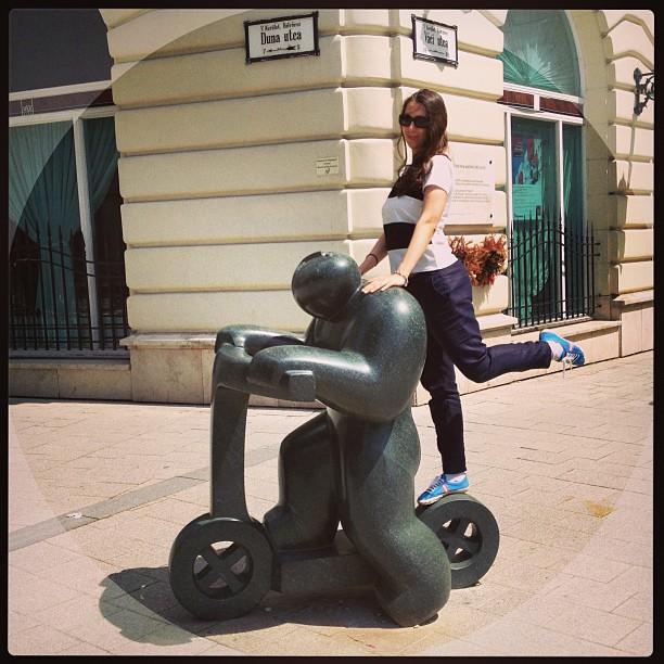 Поехали! #budapest #vaciutca #bigman