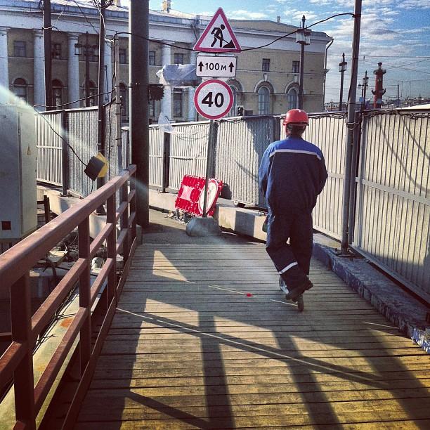 #самокат #мост #рабочий #дворцовый #спб #тренд #spb