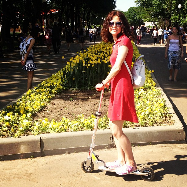 #scooter #moscow #may #самокат #парк_горького