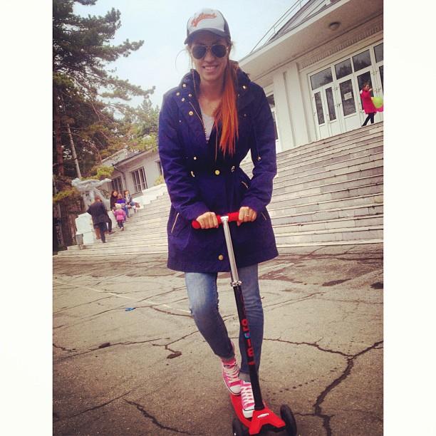 #самокат #micromaxi #scooter #keck up #InstaSize #park