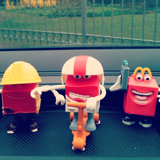 Mc collection! #mc #me #collection #yo #golf #happymeal #happy #nicepic #monopattino #radio