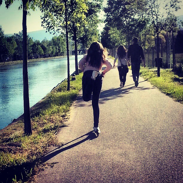 #patinete#Segre#caminolargo#felicidad#seu#love