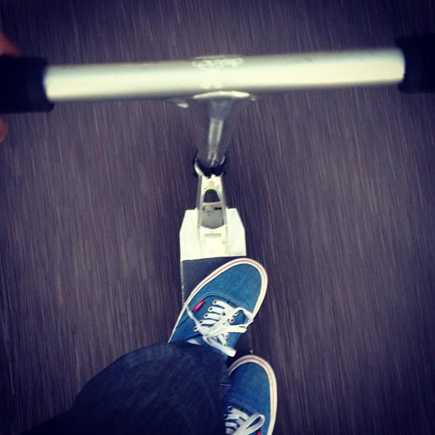 Petite balade ! #trotinette #freestyle #vans #ride