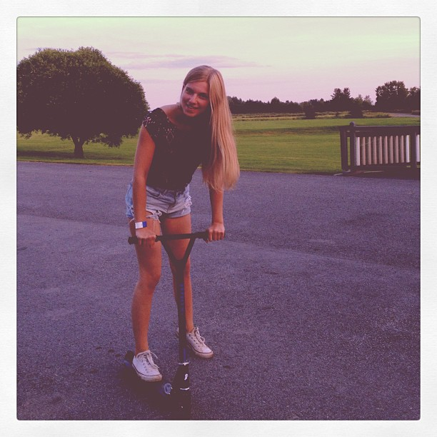 #summertime#me#happy#holiday#powerpark#kickscooter