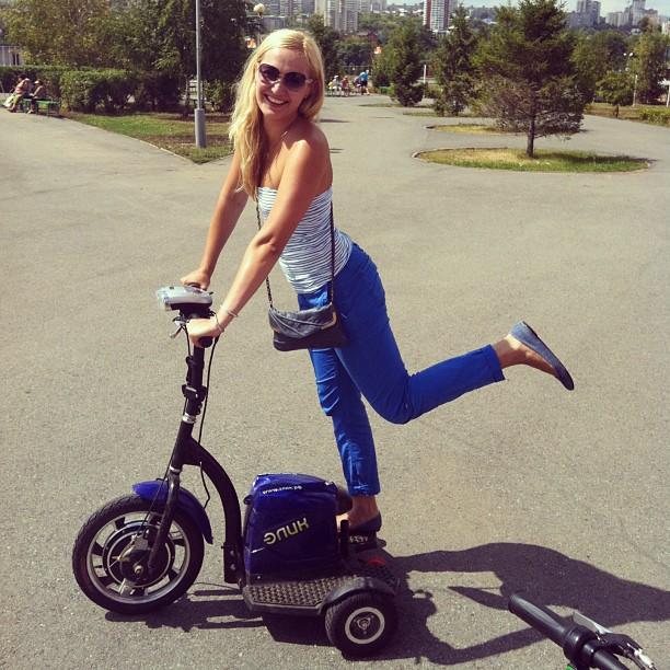 Поехали... #парк #кашкадан #самокат #Park #Scooter #lol #smile