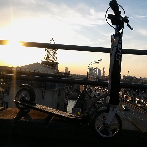 #xootr #самокат #Москва #ТТК