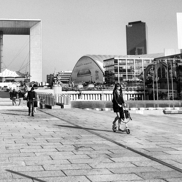 Trottinette #iphoneography #paris #ladefense #trotinette