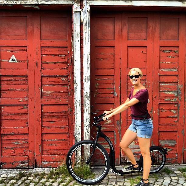 My sweet new ride!! #kickbike #bergen #håperpå  #sprettræv