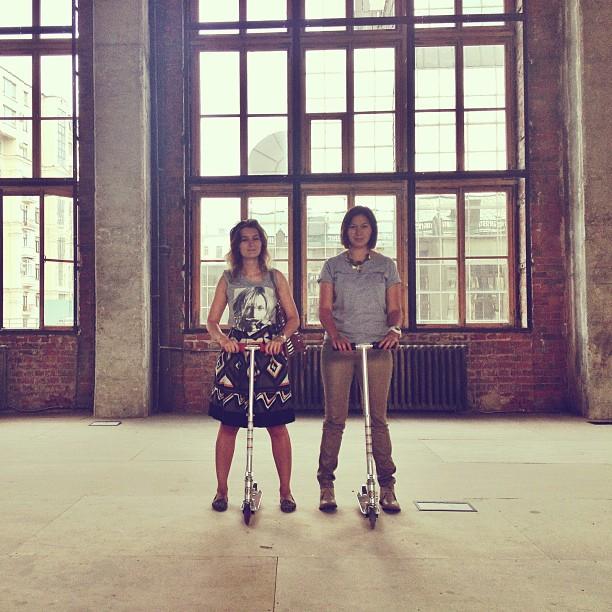 #girls #самокат #space #morning #loft #lookoftheday