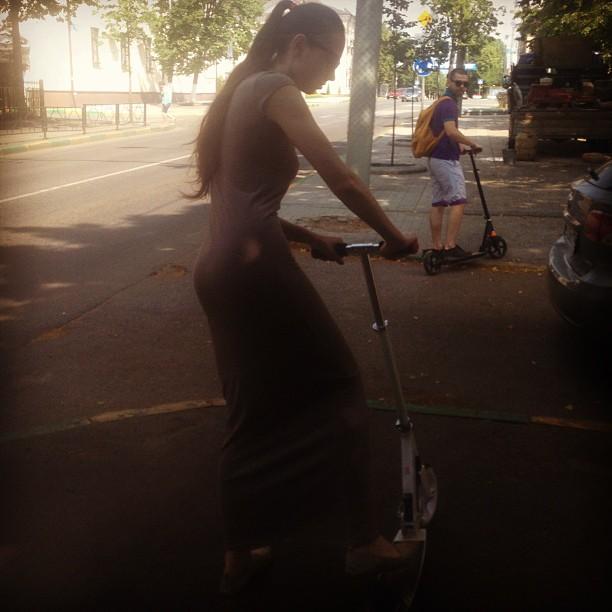@budmarine осваивает #самокат ) @aevdonin контролирует)