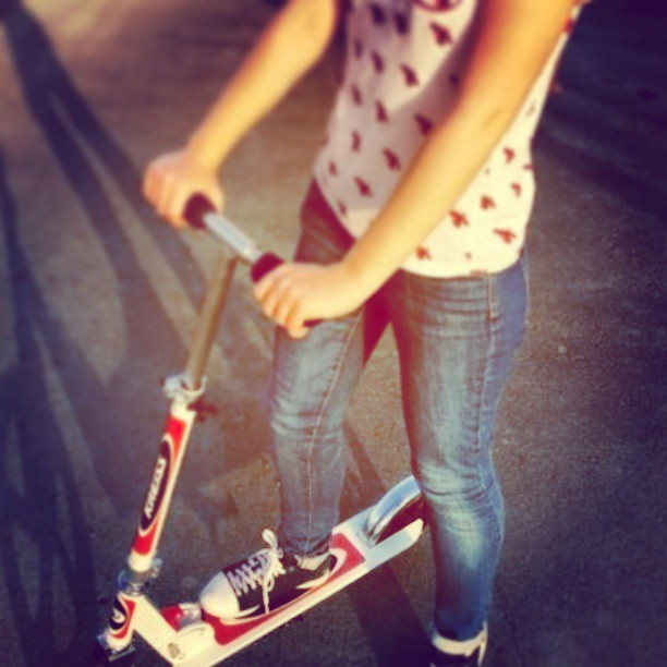 #самокат #sport #keds #scooter