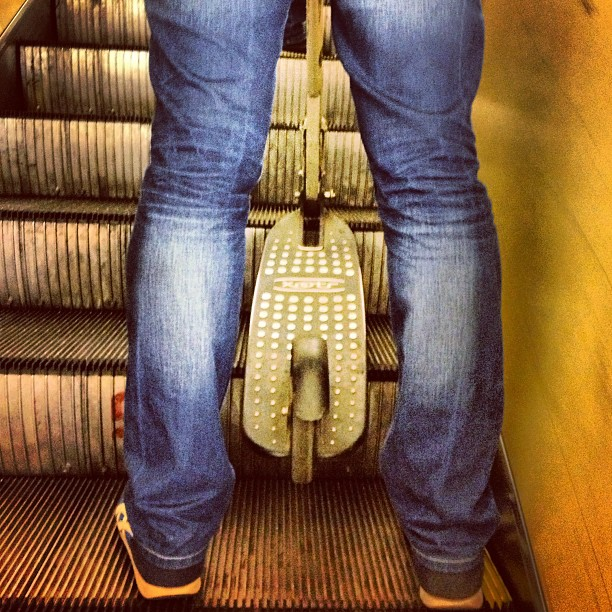 #самокат #метро