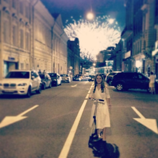 #moscow #fireworks #jollyland #самокат #scooter