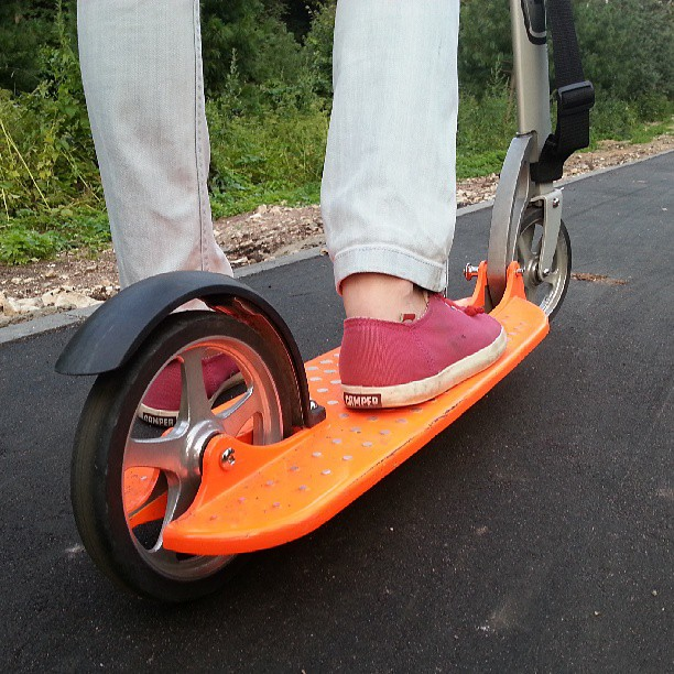 Hi, @javigogo! Sorry for late answer. Need more pics? #xootr #kickscooter