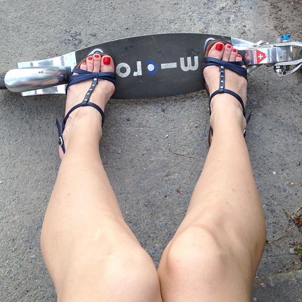 #самокат #дорога #micro #flex #scooter