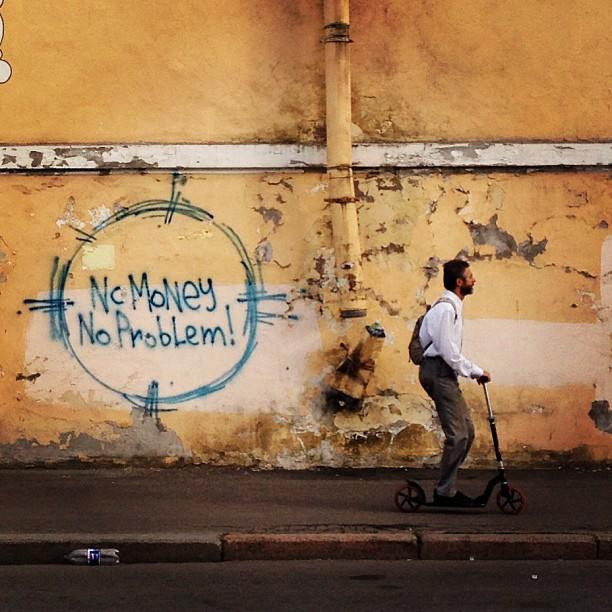 Что-то в этом есть... #graffiti #spb #самокат