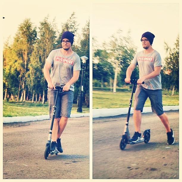 #me #boy #fun #kzn #kazan #morning #казань #самокат
