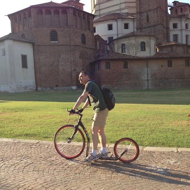#footbike #basilichemilank