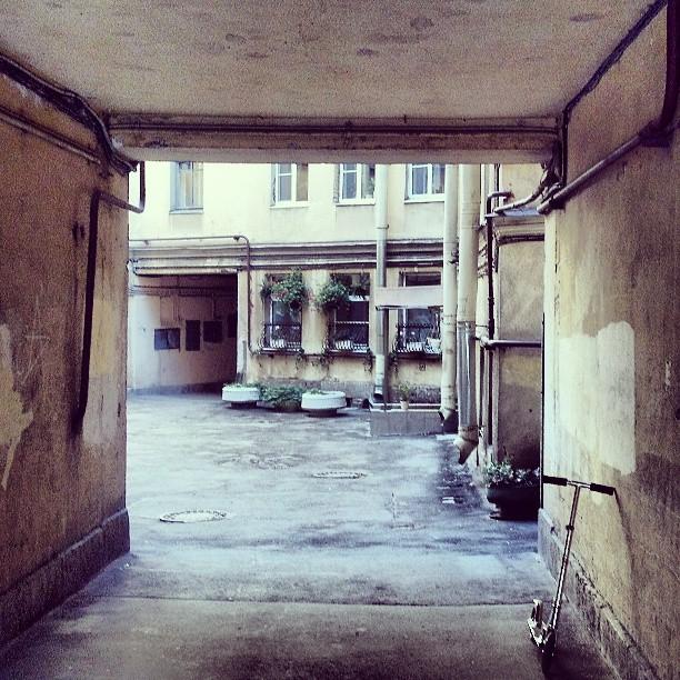 #двор #затхлость #злачное #место #спб #spb #neighborhood