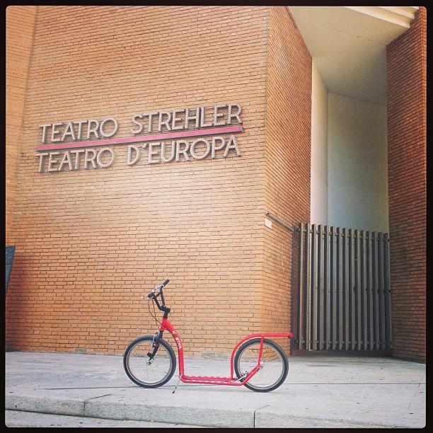 #footbike #piccoloteatro #milano