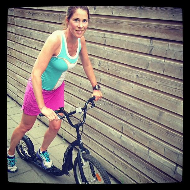 Back from kickbike workout! #kickbike #trainen