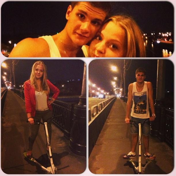 #ночь #самокат #москва