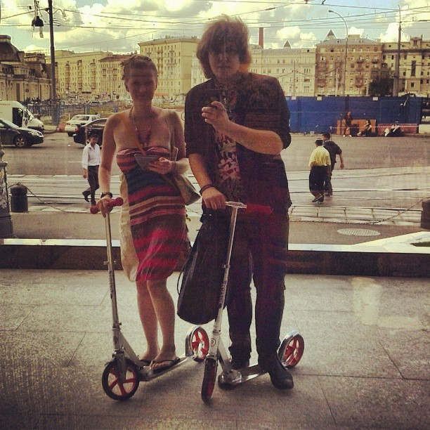 @lenabrandt и неделя #самокат #Москва