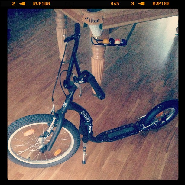 #kickbike #scooter #cool #bigboystoys #extremesports #mancave #offroad #snookertable