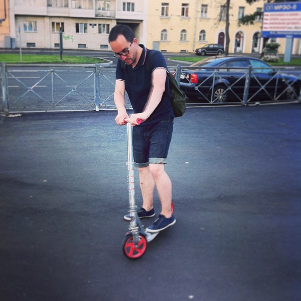 #me #scooter #summer