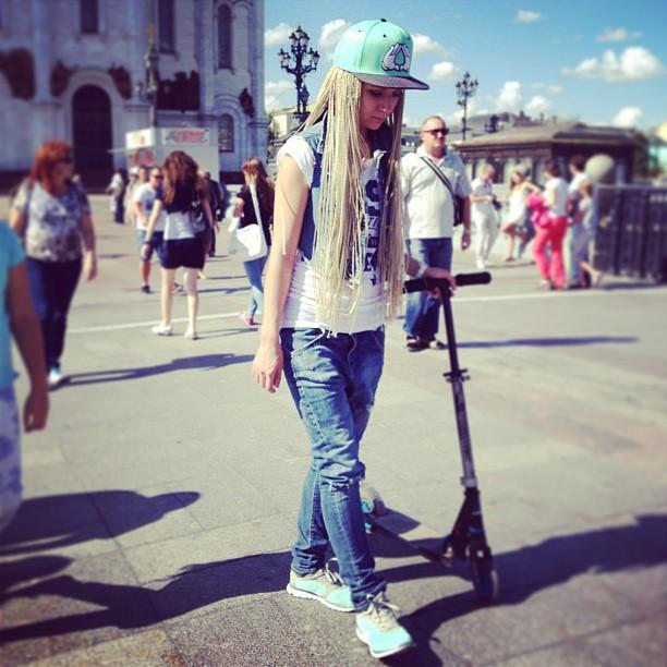#покатушки #прогулка #самокат #отдых #москва едем в чиптрип